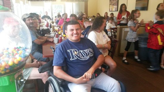 Kay's Kitchen Family Restaurant: Miracle League Baseball Banquet sponsored by Kay's Kitchen.
