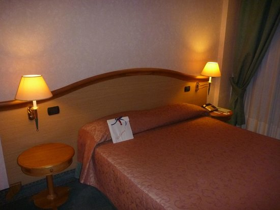 Perugia Plaza Hotel: Zimmer