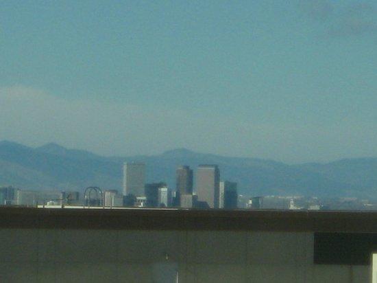 Hyatt Regency Denver Tech Center: (Zoomed in): Denver from the room (it's a ways).