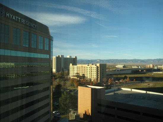 Hyatt Regency Denver Tech Center: View from the sixth floor.