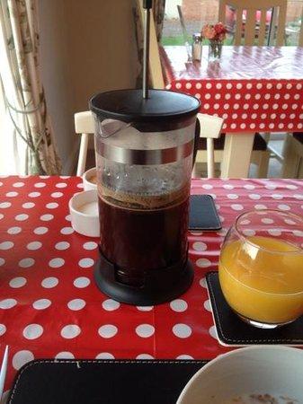 Primrose Lodge: Coffee ?