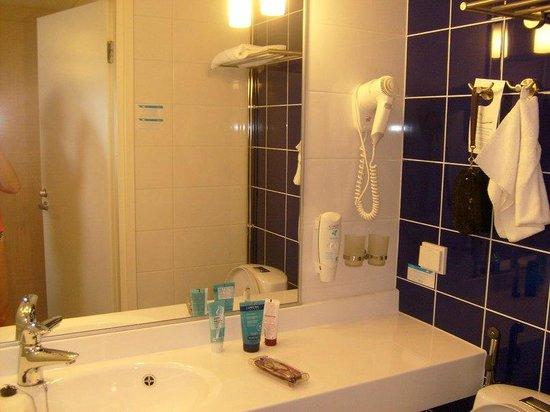 Cumulus Hakaniemi: Ванная комната.