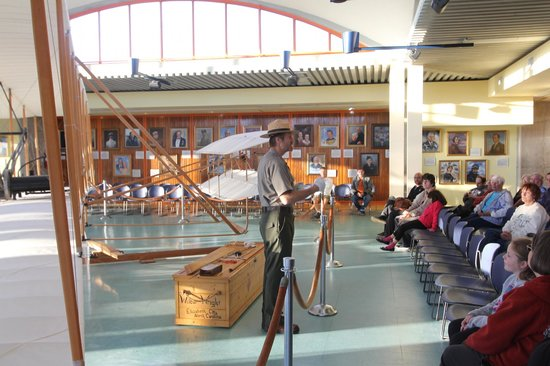 Wright Brothers National Memorial: Ranger talk