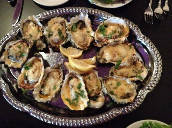 Kokopelli Grill : Grilled oysters. Delicious