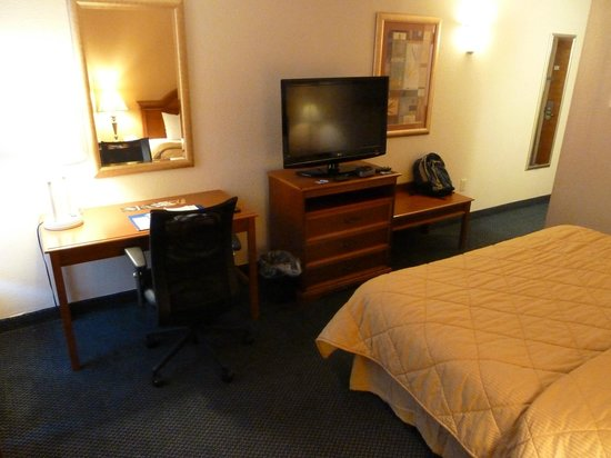 Comfort Inn Martinsville: Room