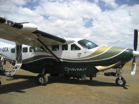 Governor's Camp: Governor's Private Plane