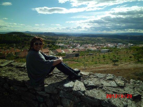 Hotel Rural Sra. de Pereiras: Vista do mirante situado na parte mais alta da cidade.