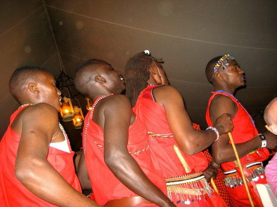 Governor's Camp: Masai Performing