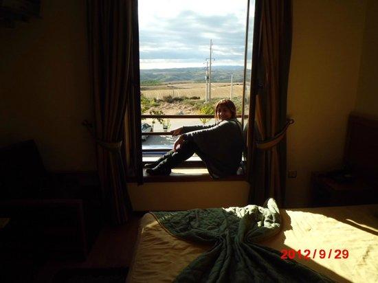 Hotel Rural Sra. de Pereiras: Vista do quarto do hotel.