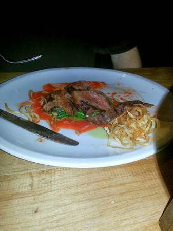 WG Kitchen and Bar: Hangar steak - perfectly cooked