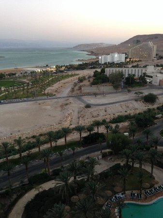 David Dead Sea Resort & Spa : view from the balcony