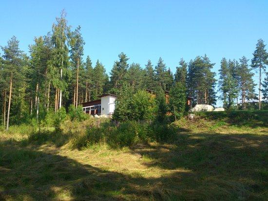 Jokiniemen Matkailu: Вид на отель с озера