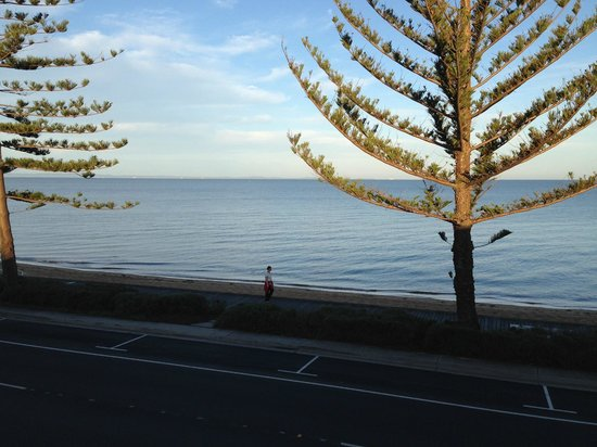 Waltzing Matilda Motel : View from room 12