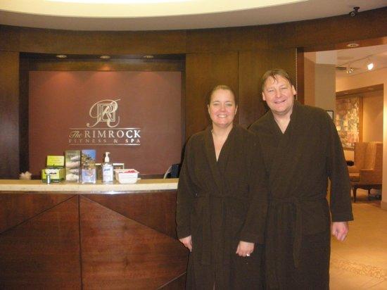 Rimrock Resort Hotel: At the spa