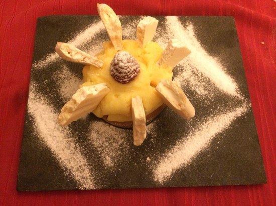 Le Bistrot de Panurge : Tarte au citron meringuée