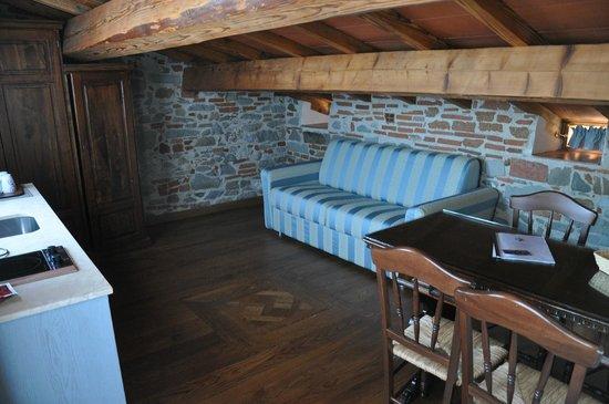 Villa Il Mosaico : cucina/salotto