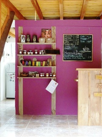 The Beehive: homemade products and menu