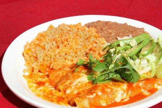 Las Brasas Mexican Restaurant: Enchiladas del Mar