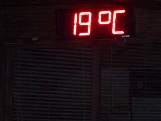 Barut Hemera : evening temperature