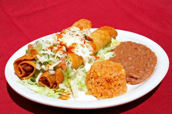 Las Brasas Mexican Restaurant: Flautas