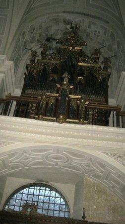 Real Monasterio San Zoilo: Organ in monastery chapel
