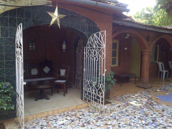 Palacete Rodrigues: le camere sul giardino