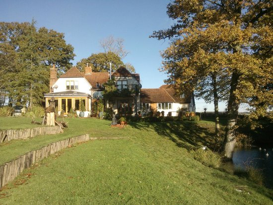 Shoyswell Cottage B&B: View from the lovely grounds