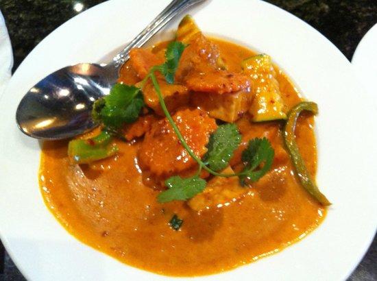 Thai Spices - Thai Restaurant: Tofu Pumpkin Curry