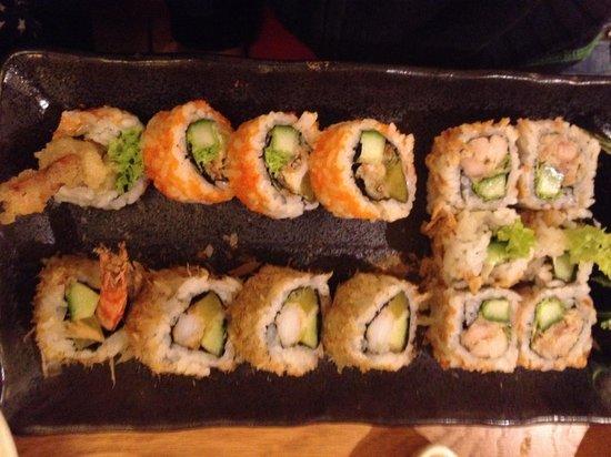 Yama Sushi : Plateau tempura