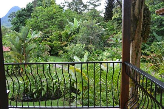 Casa Luna Hotel & Spa: Las habitaciones tiene una vista fantástica al parque interno y al volcán