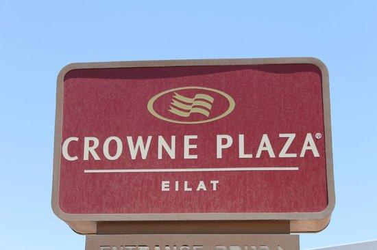 Crowne Plaza Hotel Eilat : Hotel