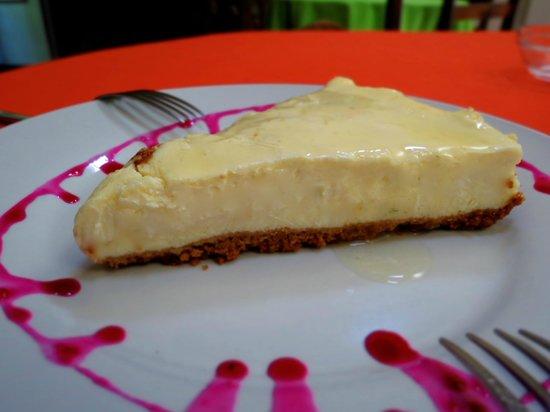 Restaurante El Garaje : Sour orange cheesecake