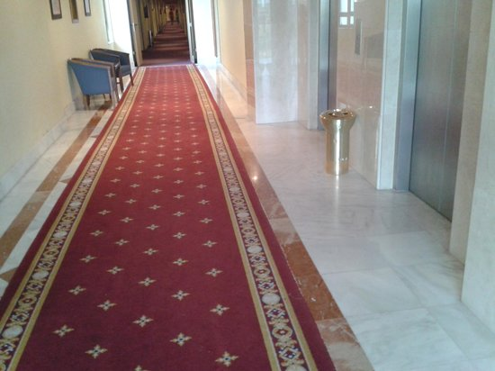 Hotel Dona Brigida: PASILLO