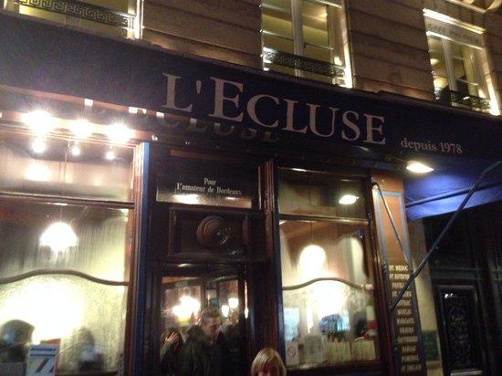 L'Ecluse Madeleine : L'Ecluse, place de la Madeleine, Paris