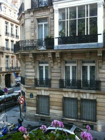 West-End Hotel: vista da varanda
