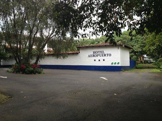 Hotel Aeropuerto Costa Rica: Arriving