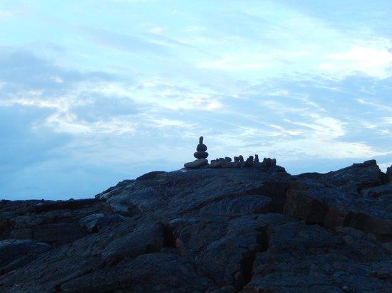 Ma'ukele Lodge: View from Lava beach