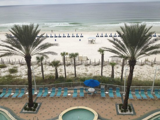 Boardwalk Beach Resort Condominiums: View from our balcony