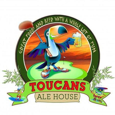 Toucans Ale House: Logo