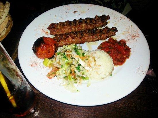 Ottoman Turkish Newcastle: Adana Kebab