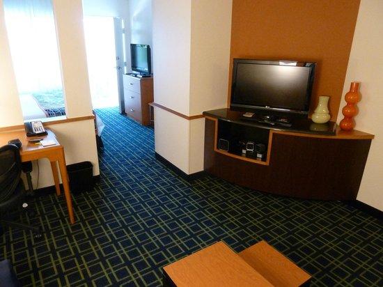 Fairfield Inn & Suites Strasburg Shenandoah Valley: Lounge area