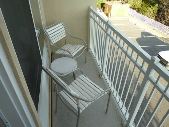 Fairfield Inn & Suites Strasburg Shenandoah Valley: Balcony
