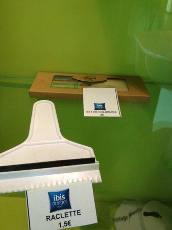 Ibis Budget Paris Porte de Bagnolet : you can buy it at front desk