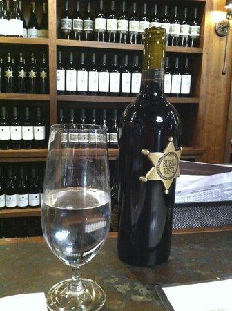 Buena Vista Winery: At the bar