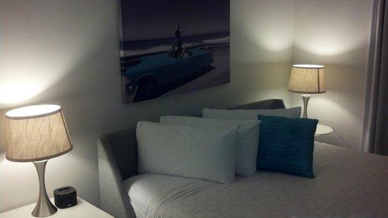 The Aqua Hotel : Schlafzimmer