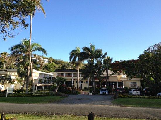 Bedarra Beach Inn: From across the road