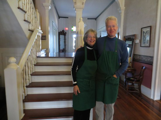 Americus Garden Inn Bed & Breakfast : Kim and Susan, Innkeepers