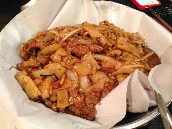 Congee Village : Beef hor-fan... Yummy