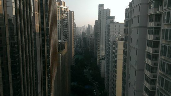 Jianguo Hotel: Lots of tall buildings in Shanghai