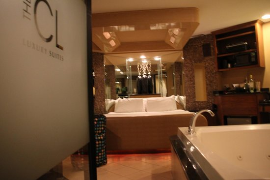 Champagne Lodge and Luxury Suites: our room